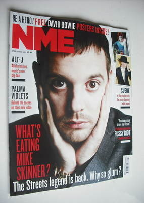 <!--2012-10-27-->NME magazine - Mike Skinner cover (27 October 2012)