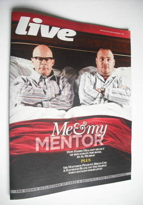<!--2012-11-11-->Live magazine - Harry Hill and Al Murray cover (11 Novembe