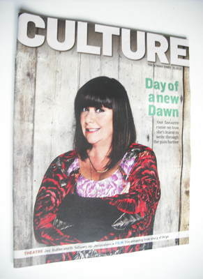 <!--2012-10-21-->Culture magazine - Dawn French cover (21 October 2012)