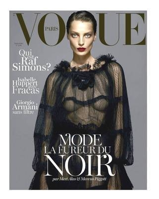 <!--2012-09-->French Paris Vogue magazine - September 2012 - Daria Werbowy