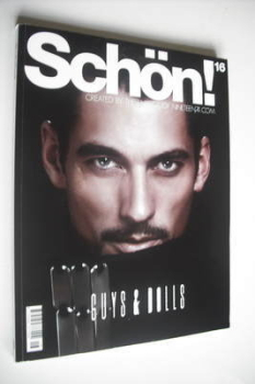 Schon! magazine - David Gandy cover (Issue 16)