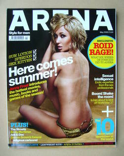 <!--2006-05-->Arena magazine - May 2006 - Jenny Frost cover