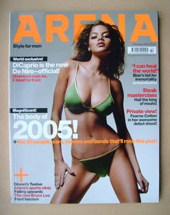 <!--2005-02-->Arena magazine - February 2005 - Nell Robinson cover