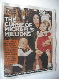 Mail On Sunday Review supplement - Michael Jackson cover (11 November 2012)
