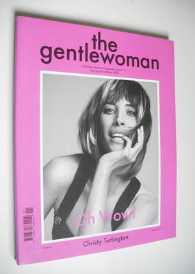 The Gentlewoman magazine - Christy Turlington cover (Spring/Summer 2012)