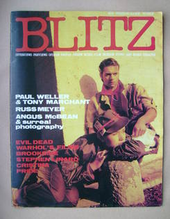 <!--1983-03-->Blitz magazine - February/March 1983 (No. 9)