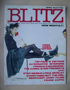 <!--1983-04-->Blitz magazine - April 1983 (No. 10)