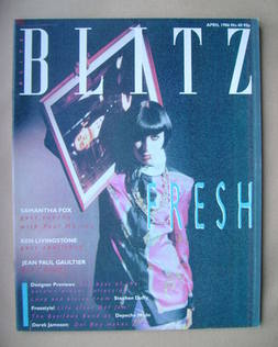 <!--1986-04-->Blitz magazine - April 1986 (No. 40)