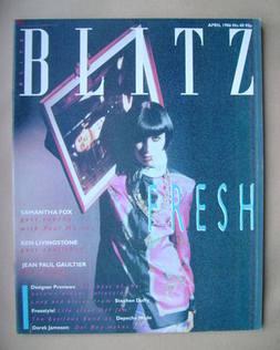 Blitz magazine - April 1986 (No. 40)