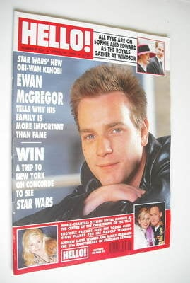 <!--1999-04-20-->Hello! magazine - Ewan McGregor cover (20 April 1999 - Iss