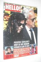 <!--1990-10-20-->Hello! magazine - Princess Caroline cover (20 October 1990 - Issue 124)