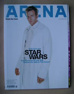 <!--2005-06-->Arena magazine - June 2005 - Ewan McGregor cover