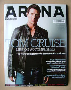 <!--2006-06-->Arena magazine - June 2006 - Tom Cruise cover