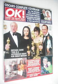 OK! magazine - The Oscars cover (7 April 2000 - Issue 207)