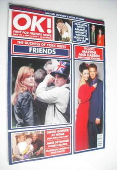 OK! magazine - Sarah Ferguson & Friends cover (10 April 1998 - Issue 105)