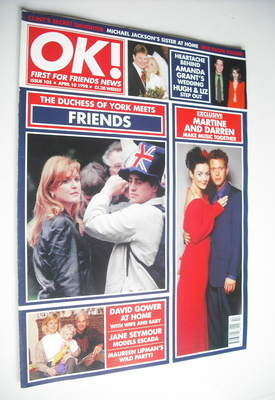 <!--1998-04-10-->OK! magazine - Sarah Ferguson & Friends cover (10 April 19