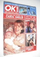 <!--1998-01-16-->OK! magazine - Carol Smillie cover (16 January 1998 - Issue 93)