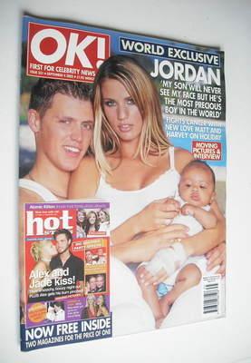 <!--2002-09-04-->OK! magazine - Jordan Katie Price cover (4 September 2002