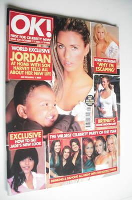 <!--2004-10-12-->OK! magazine - Jordan Katie Price and Harvey cover (12 Oct