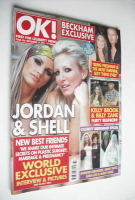 <!--2004-09-14-->OK! magazine - Jordan Katie Price and Shell Jubin cover (14 September 2004 - Issue 435)