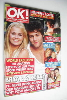 <!--2004-06-15-->OK! magazine - Kerry McFadden and Bryan McFadden cover (15 June 2004 - Issue 422)