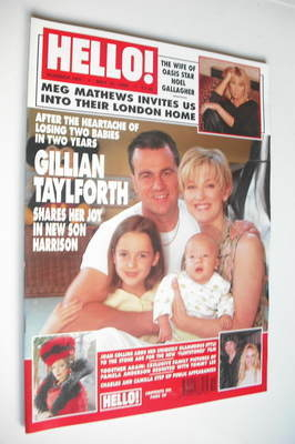 <!--1999-05-18-->Hello! magazine - Gillian Taylforth cover (18 May 1999 - I