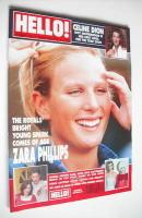 <!--1999-03-30-->Hello! magazine - Zara Phillips cover (30 March 1999 - Issue 553)
