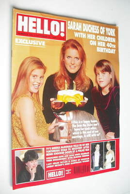 <!--1999-10-26-->Hello! magazine - The Duchess of York cover (26 October 19