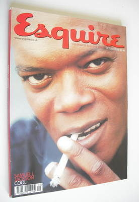 <!--2000-10-->Esquire magazine - Samuel L Jackson cover (October 2000)