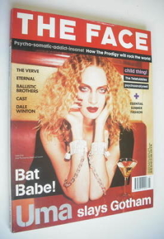The Face magazine - Uma Thurman cover (July 1997 - Volume 3 No. 6)