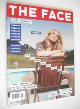 The Face magazine - Madonna cover (August 2000 - Volume 3 No. 43)