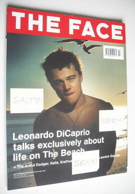 <!--2000-02-->The Face magazine - Leonardo DiCaprio cover (February 2000 -