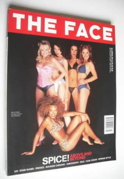 The Face magazine - The Spice Girls cover (March 1997 - Volume 3 No. 2)
