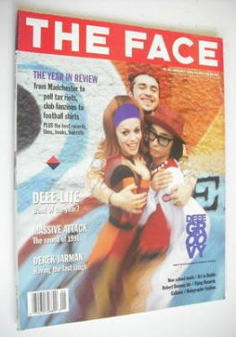 <!--1991-01-->The Face magazine - Deee-Lite cover (January 1991 - Volume 2