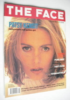 The Face magazine - Patsy Kensit cover (August 1991 - Volume 2 No. 35)
