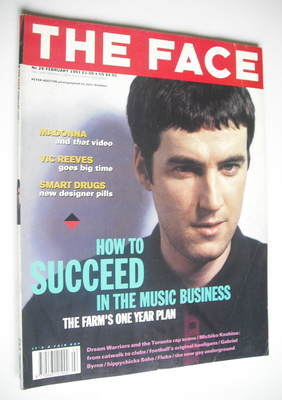 <!--1991-02-->The Face magazine - Peter Hooton cover (February 1991 - Issue