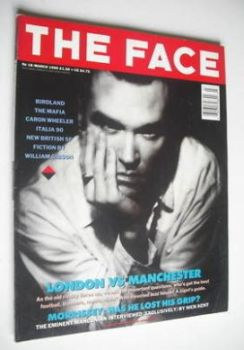 The Face magazine - Morrissey cover (March 1990 - Volume 2 No. 18)