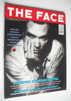 <!--1990-03-->The Face magazine - Morrissey cover (March 1990 - Volume 2 No