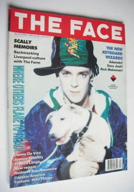 <!--1990-04-->The Face magazine - Adamski cover (April 1990 - Volume 2 No.