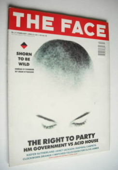 The Face magazine - Sinead O'Connor cover (February 1990 - Volume 2 No. 17)