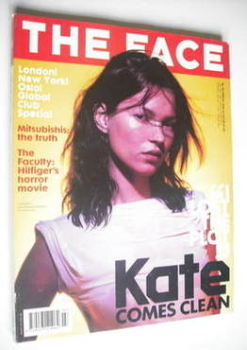 The Face magazine - Kate Moss cover (March 1999 - Volume 3 No. 26)
