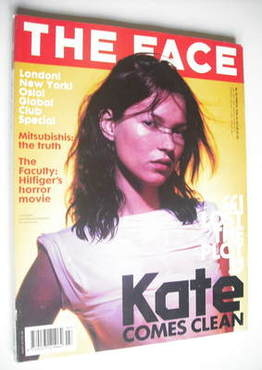 <!--1999-03-->The Face magazine - Kate Moss cover (March 1999 - Volume 3 No