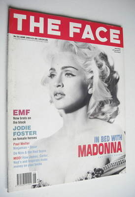 <!--1991-06-->The Face magazine - Madonna cover (June 1991 - Volume 2 No. 3