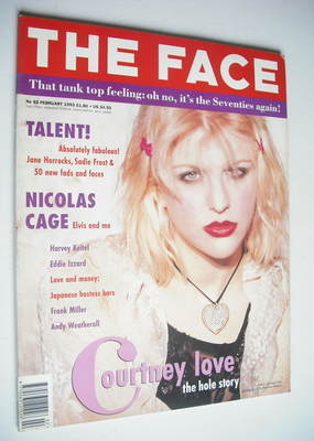 <!--1993-02-->The Face magazine - Courtney Love cover (February 1993 - Volu