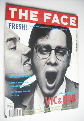 <!--1991-11-->The Face magazine - Vic Reeves and Bob Mortimer cover (Novemb