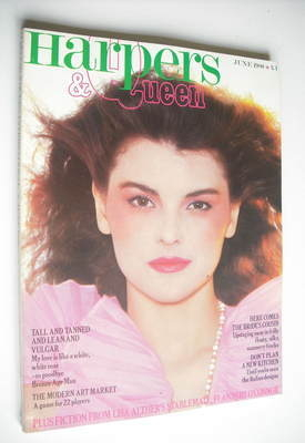 <!--1980-06-->British Harpers & Queen magazine - June 1980