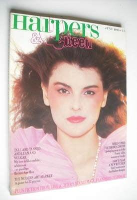 <!--1980-06-->British Harpers & Queen magazine - June 1980