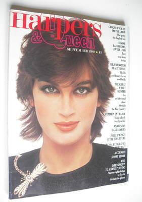 <!--1980-09-->British Harpers & Queen magazine - September 1980 - Amanda Pa