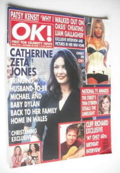OK! magazine - Catherine Zeta Jones cover (20 October 2000 - Issue 235)