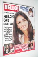 <!--2002-04-30-->Hello! magazine - Penelope Cruz cover (30 April 2002 - Issue 711)